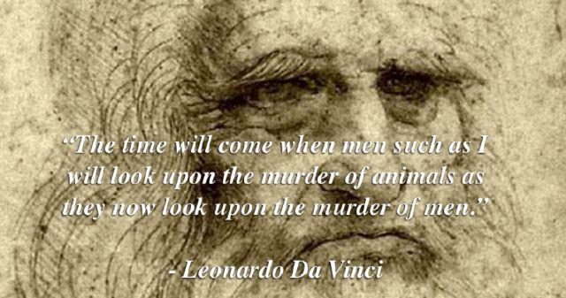 Ήταν ο Λεονάρντο ντα Βίντσι Vegan;