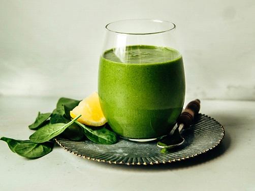 Πράσινο-Smoothie-με-Τζίντζερ