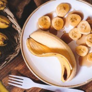 Smoothie Μήλο Μπανάνα Κανέλα_vegan μπανάνα