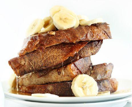 Γαλλικό Τοστ με Μπανάνα VEGAN