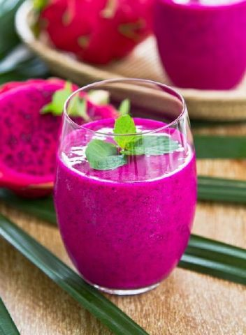 ΠΙΤΑΓΙΑ dragon_fruit VEGAN SMOOTHIE