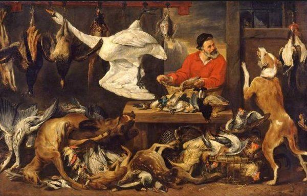 The Fowl Market - Το Πανεπιστήμιο του Cambridge αφαιρεί πίνακα που απεικονίζει νεκρά ζώα