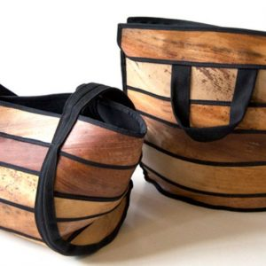 Vegan Δέρμα κατασκευασμένο από Φύλλα Φοίνικα palm leather