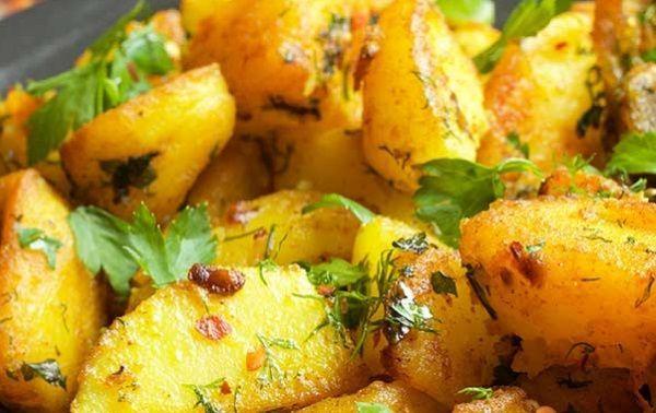 Πατάτες συνταγή με γεύση από Μέση_Ανατολή