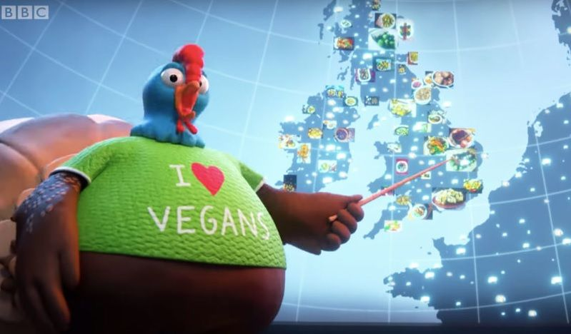 MEAT LOBBY επιτίθεται στο BBC ότι κάνει προπαγάνδα για VEGAN CHRISTMAS