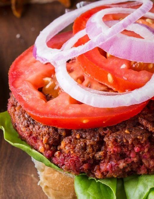 Συνταγή Vegan_Burger με Πλιγούρι, Καρύδια, Φασόλια και Βασιλικό