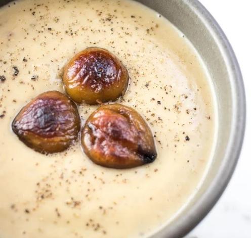 Χειμωνιάτικη Vegan Σούπα με Κάστανα