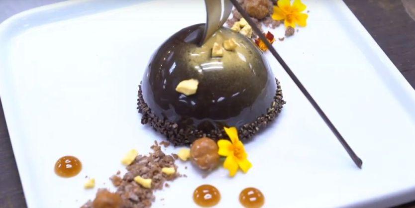 Χρυσές_Σφαίρες 2020 100% vegan_μενού opera cake