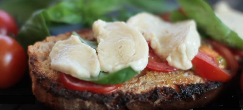 Σπιτική Vegan Μοτσαρέλα Συνταγή