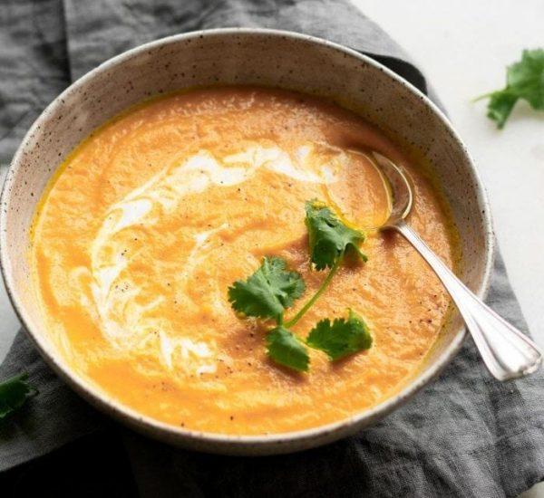 Σούπα με Kαρύδα, Tζίντζερ και Kαρότο για ενίσχυση του Ανοσοποιητικού Συστήματος