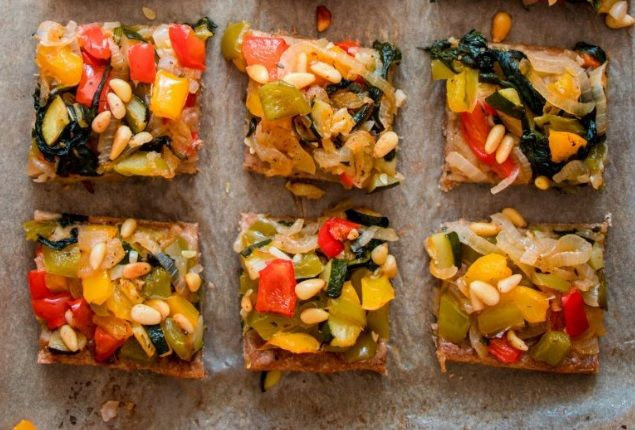 Τάρτα Λαχανικών vegan συνταγή