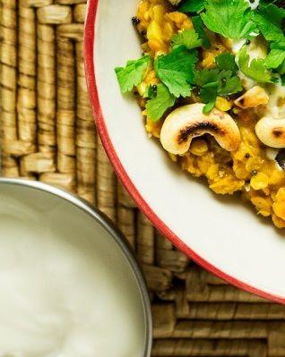 Ινδική Vegan συνταγή με κόκκινες φακές
