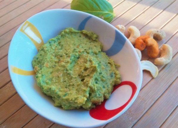 Vegan Πέστο με Κάσιους και Αβοκάντο_βίγκαν συνταγή