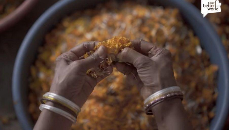 Fleather - vegan δέρμα φτιαγμένο από τα απορρίμματα λουλουδιών της Ινδίας