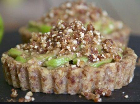 Μηλόπιτα συνταγή ωμή vegan χωρίς γλουτένη
