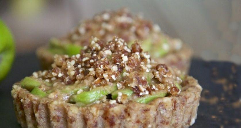 Μηλόπιτα συνταγή raw vegan χωρίς γλουτένη