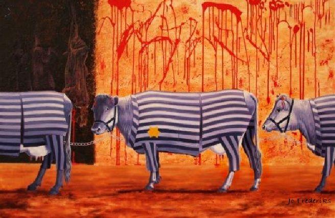 Το Ολοκαύτωμα ζώων Ναζί στρατόπεδα συγκέντρωσης σφαγεία