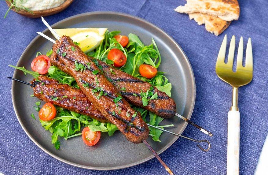 Vegan Σουβλάκια Κεμπάπ Συνταγή Beyond Meat