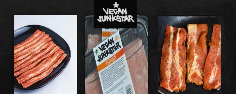 Vegan μπέικον Bacon VeganJunkStar