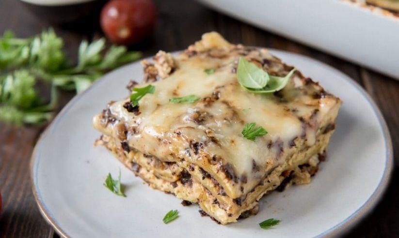 Λαζάνια με Vegan Σάλτσα Μπολονέζ συνταγή veganworld.gr