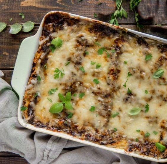Λαζάνια με Vegan Σάλτσα Μπολονέζ συνταγή veganworld