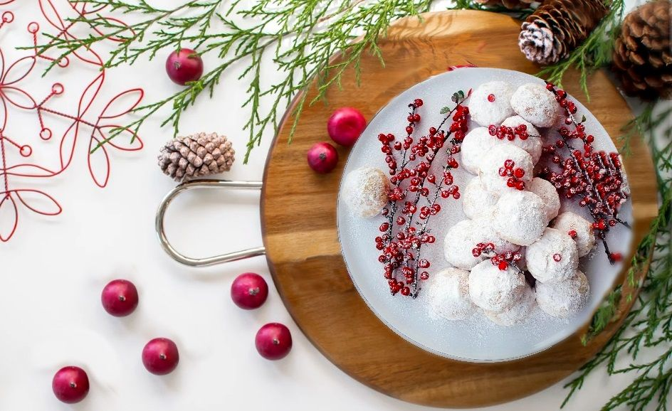 Vegan Κουραμπιέδες με μαστίχα Χίου και τριμμένη καρύδα βίγκαν συνταγή