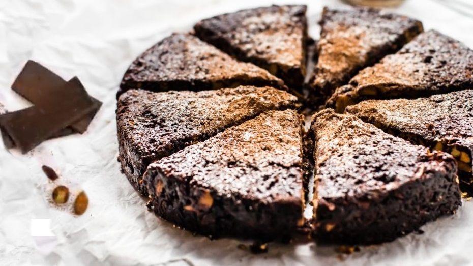 Vegan Σοκολατόπιτα Πανφόρτε συνταγή