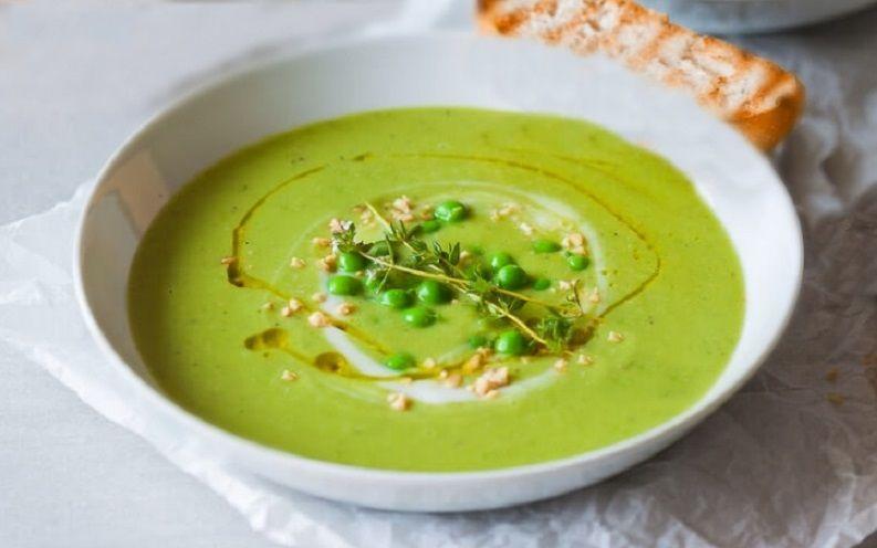 Σούπα Αρακά vegan συνταγή εύκολη γρήγορη