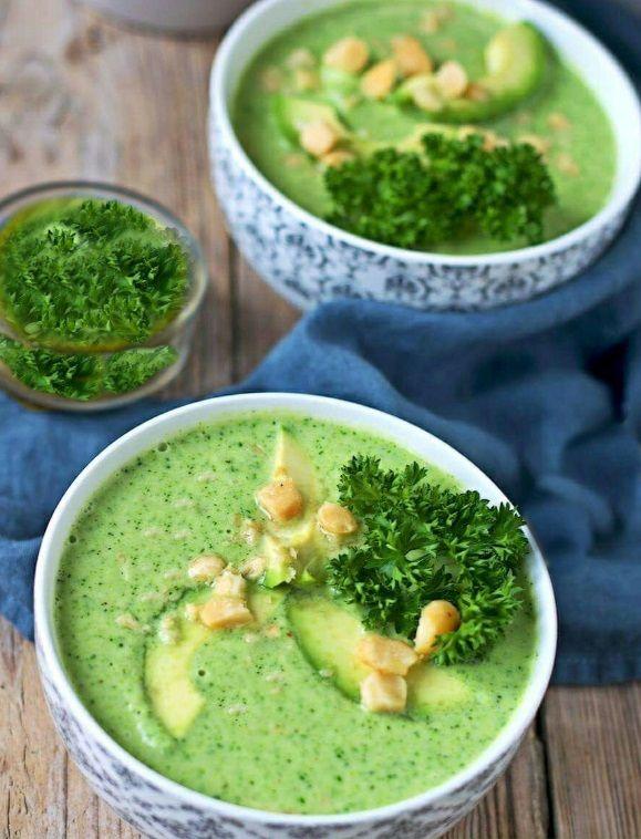 Vegan σούπα μπρόκολο συνταγή