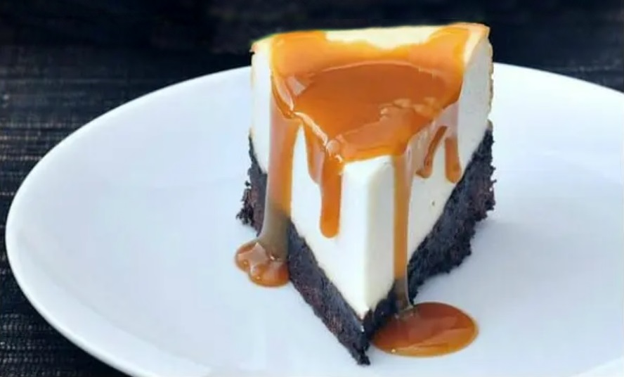 Νηστίσιμο Vegan Cheesecake με βάση Brownies Σοκολάτας