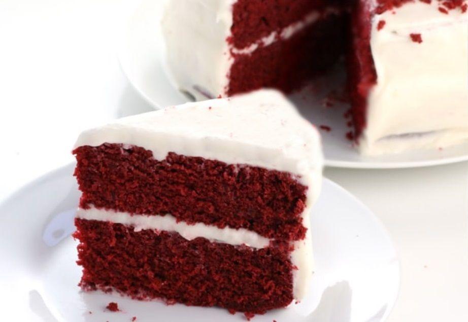 Vegan Τούρτα Κόκκινη κέικ συνταγή νηστίσιμη