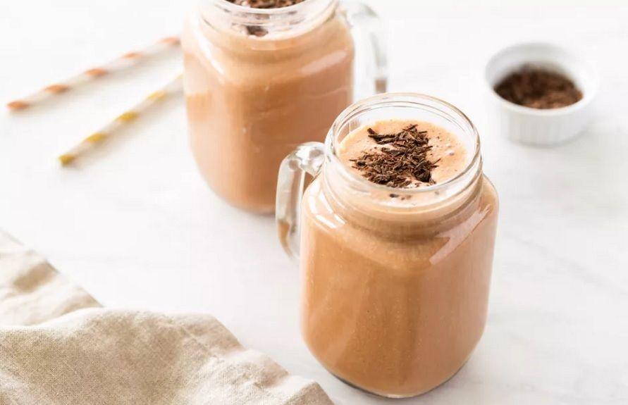 Vegan Smoothie Σοκολάτα Φυστικοβούτυρο Μπανάνα