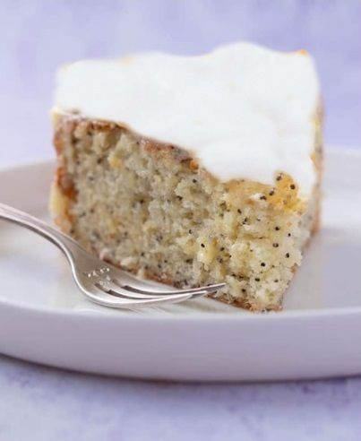 Αφράτο Vegan κέικ με λεμονιού με γλάσο λεμονιού συνταγή