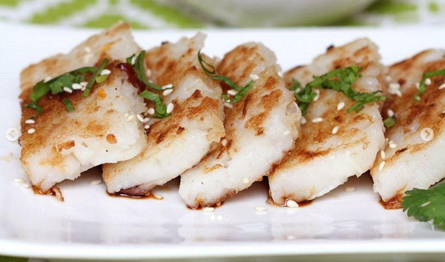 Vegan Κροκέτες Γογγύλι Ρέβα Κινέζικη Κουζίνα συνταγή