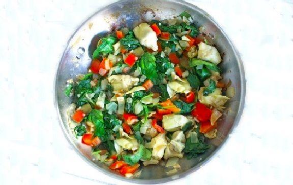 Vegan Σουφλέ Σπανάκι και Αγκινάρα συνταγή νηστίσιμη