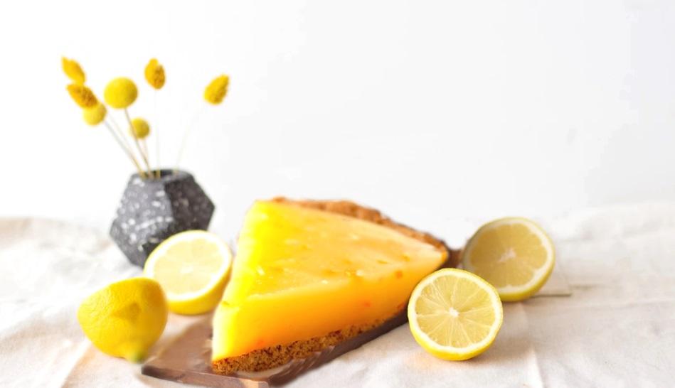 Vegan Τάρτα Λεμονιού με Κρούστα Μπισκότων Βρώμης λεμονόπιτα συνταγή