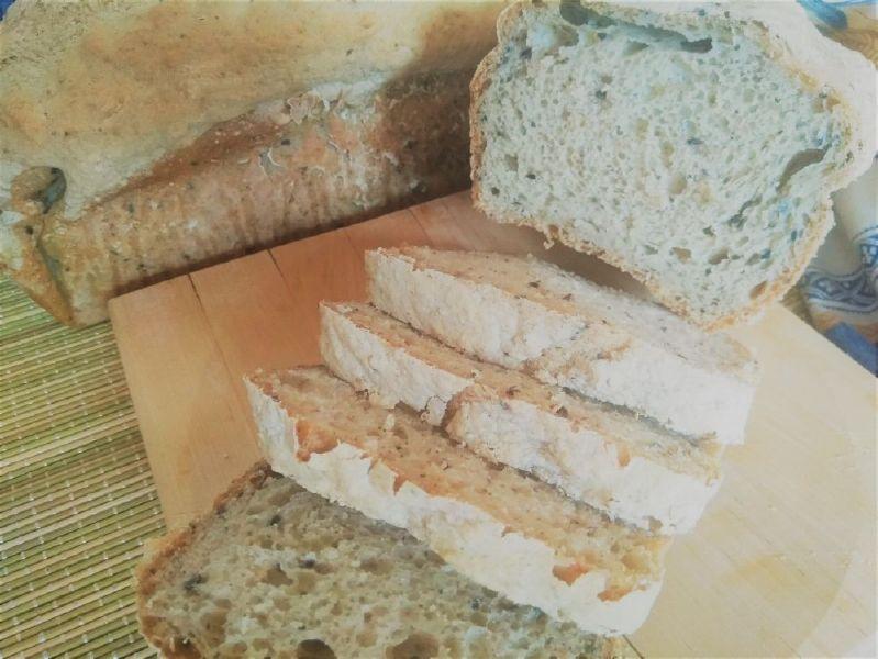 Συνταγή Vegan Ψωμί χωρίς γλουτένη - φέτες