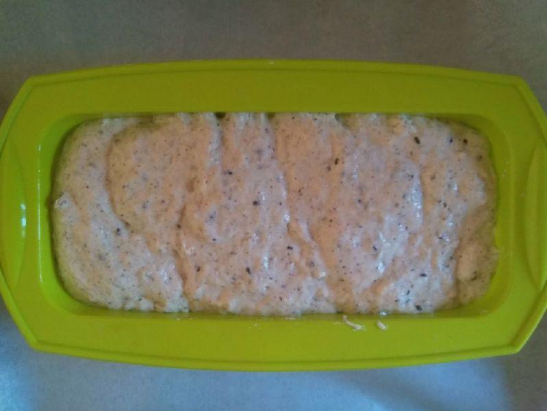 Συνταγή Vegan Ψωμί χωρίς γλουτένη - φόρμα