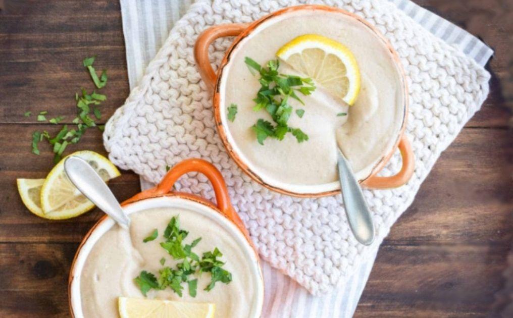 Χειμωνιάτικη Κρεμώδη Vegan Σούπα Κουνουπίδι Συνταγή