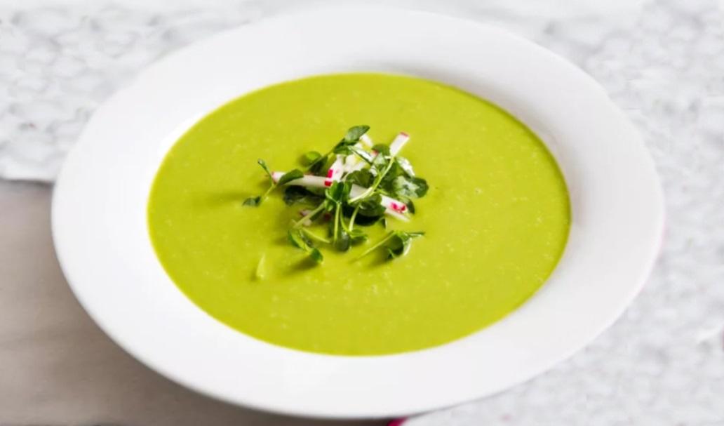 Vegan κρεμώδης σούπα με Μαρούλι Συνταγή Βίγκαν